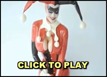 Video of Bianca Beauchamp as Harley Quinn