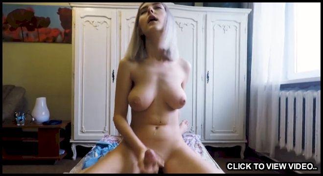 Big boob handjob