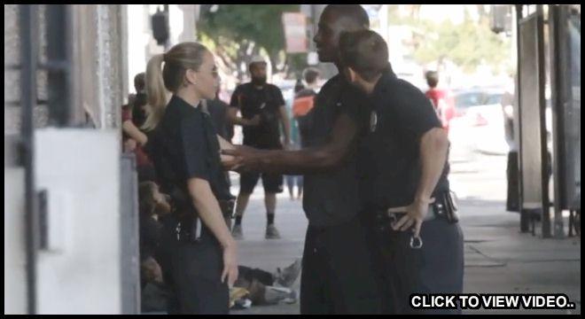 Olivia Austin Pretending to be a Cop Prank!