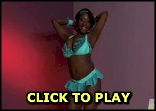 Busty porn star Janet Jade strip