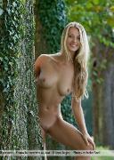 Carisha in trees