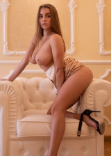 Busty Lady Loves To Strip