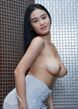 Showering Busty Babe