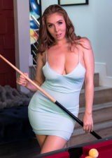 Snooker Playing Babe
