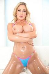 Busty Babe In Bikini