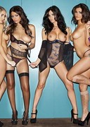 Holly Peers, India Reynolds, Emma Glover and Nicole Neal are Naked