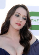 Kat Dennings Cleavage at a Party