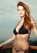 Leanna Decker Strip in a Villa