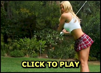 Naked Golfing with Jessica Marie
