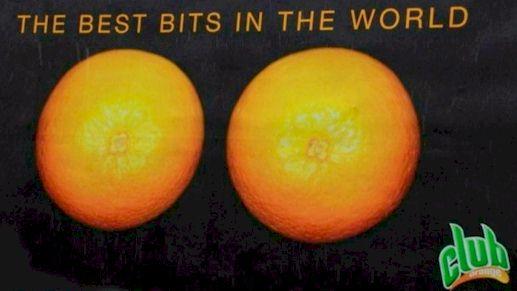 Banned Club Orange Ad in Ireland
