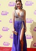 Melanie Iglesias Cleavage at the 2012 VMA's