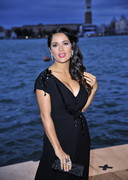 Salma Hayek Cleavage for Gucci