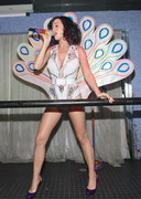 Katy Perry's Cleavage and Areola Performs Live
