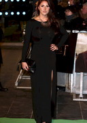 Lucy Pinder in a Sheer Dress at the Premiere of The Hobbit