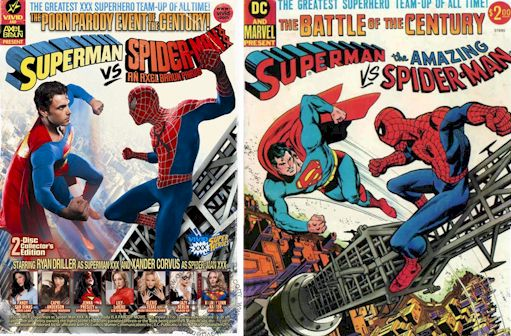 Superman vs Spider-Man XXX