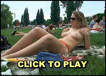 Naked in a Public Park