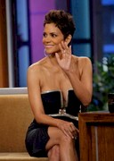 Halle Berry Cleavage on Leno