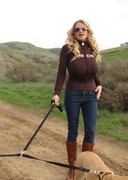 Kelly Madison Topless Hike