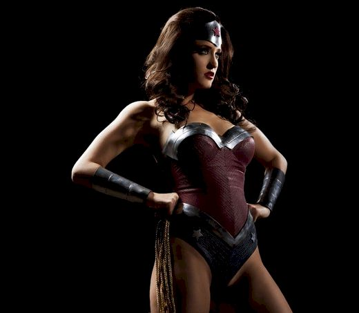 Kimberly Kane as Wonder Woman