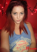 Self Shot Pics of Lucy V in a Blue Top
