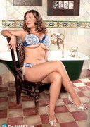 Valory Irene getting Ready in the Bathroom