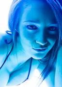 Nikki Sims Went Tanning