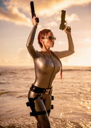 Bianca Beauchamp is Lara Croft!