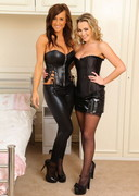 Stacey P and Jodie Gasson in Corsets