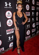 Adrienne Bailon Leggy and Cleavy at the ESPYs