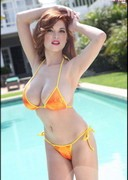 Tessa Fowler's Big Boobs in a Bikini