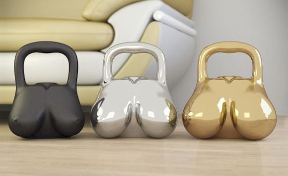 Breast Kettlebells!
