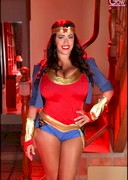 Leanne Crow is Wonder Woman