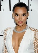 Naya Rivera Cleavage Celebration