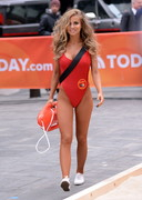 Carmen Electra Back in the Baywatch Swimsuit