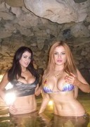 The Howe Twins at the Playboy Mansion