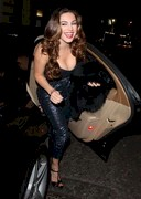 Kelly Brook's Birthday Cleavage