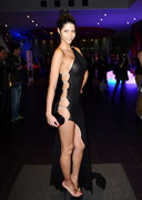 Micaela Schaefer Wore a Sheer Dress