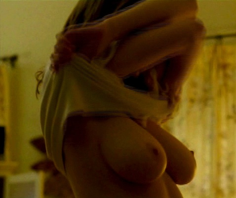 Alexandra Daddario Topless Caps from True Detective!