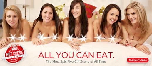 Girls Gone Wild – Five Girl Orgy!