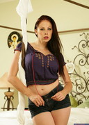 Gianna Michaels Strip in Bed