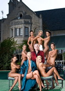 International Playmates at the Mansion