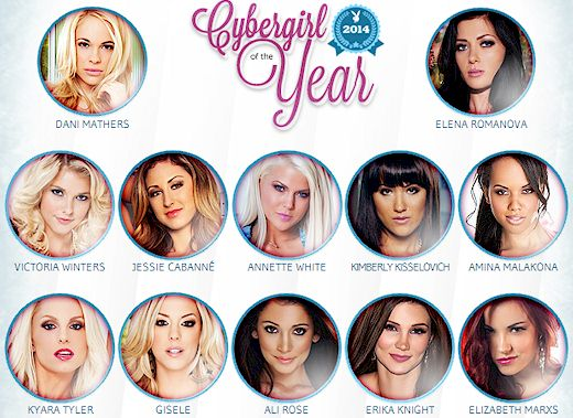 Vote for the 2014 Playboy Cybergirl of the Year