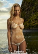 Hannah Ferguson in Body paint for Sports Illustrated