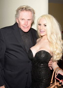 Courtney Stodden Hangs Out at an Oscar Party