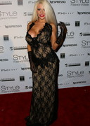 Courtney Stodden at a Fashion Party