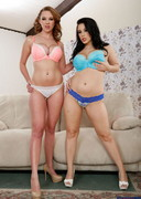 Noelle Easton and Brooke Wylde Strip Together