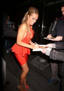 Aisleyne Horgan-Wallace Drunk in London!! Nip AND Pussy Slips!