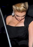 Kate Upton's Pushed Up Cleavage