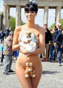 Micaela Schaefer is Basically Naked for Easter