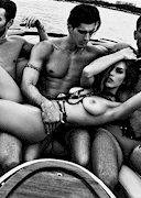Alyssa Arce Topless on a Boat